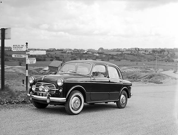 [Geoff Charles road tests the Fiat 1100]