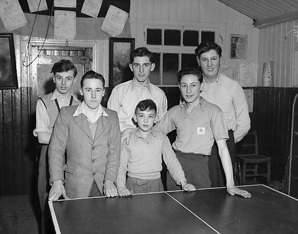 [Oswestry versus Gobowen table tennis]