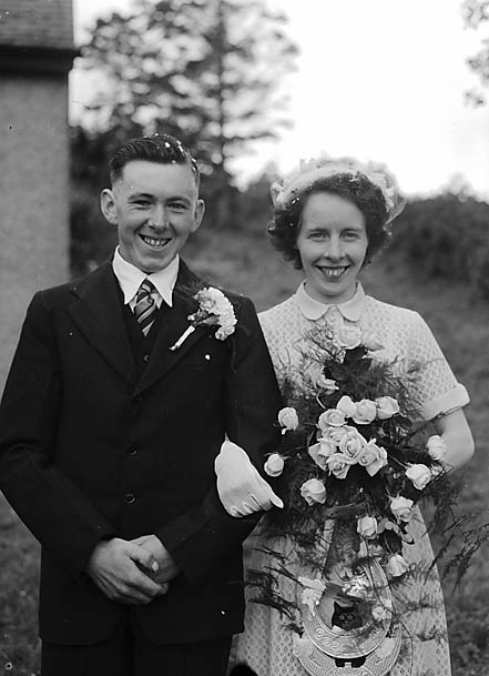 [Wedding of Nerys Jones and Ieuan Jones', Brithdir]
