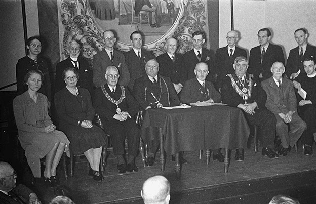 [Centenary celebrations by Montgomery and Bishop's Castle Oddfellows (Manchester Unity) Lodges]