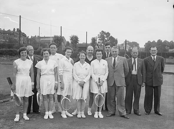 [Competitors at Severnside Lawn Tennis Championships]