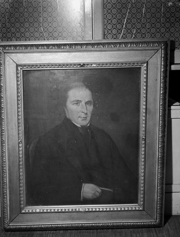 [Copy of a portrait of John Jones, Talysarn, a famous preacher]