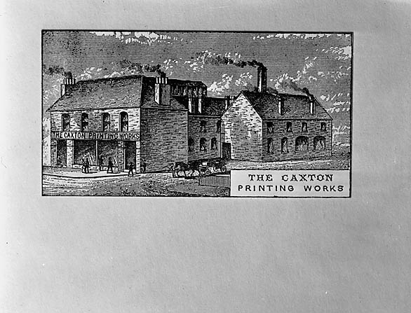 [Scenes of the Caxton Press, Oswestry]
