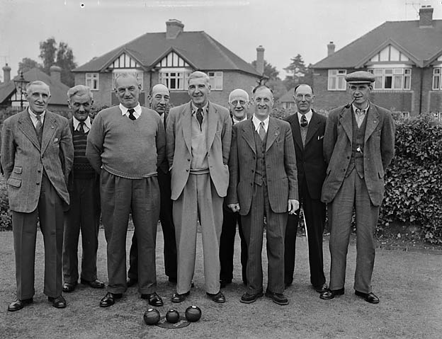 [Baschurch and Peacock (Shrewsbury) Bowling teams]