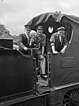 [The last goods train to use the Llangynog-Llanrhaeadr-ym-Mochnant branch line]