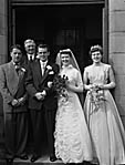 [Wedding of Olwen Phillips to Gilmore Jones at Seion Chapel, Glyn Ceiriog]