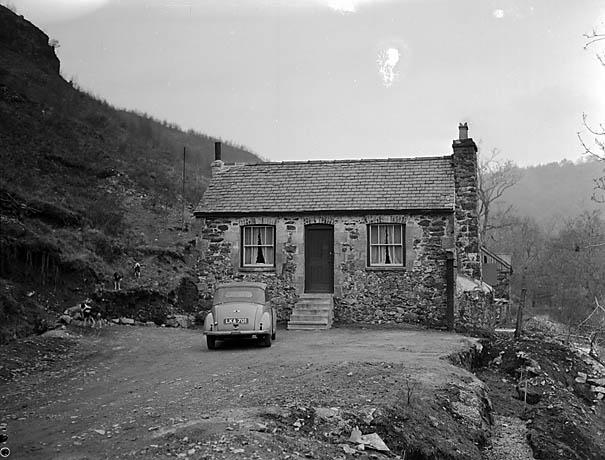[Gwynfynydd Gold Mine near Y Ganllwyd]