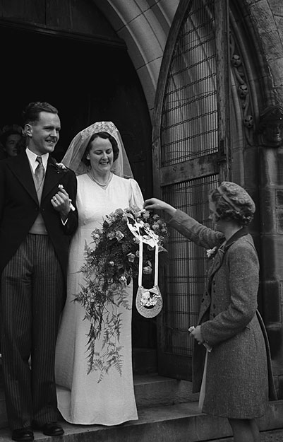 [Three Weddings - Ellesmere, Wem and Tilstock, 1948]