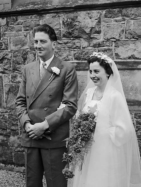 [Wedding of Maglona Rowlands and Harry Lloyd at Ebenezer Congregational Chapel, Llangynog]