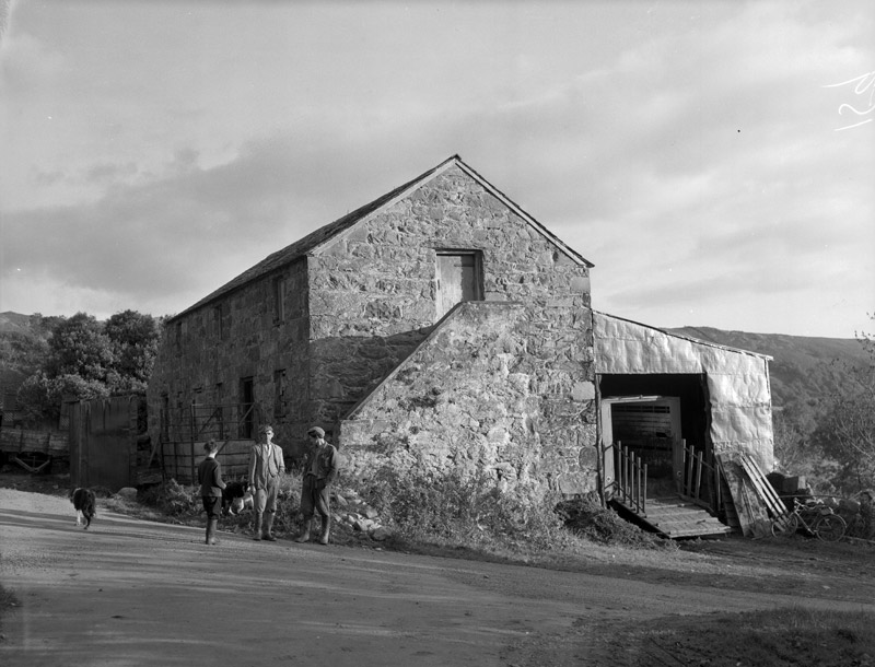 [The stable loft at Y Wern, Llanfrothen, where Bob Owen Croesor served a farm hand]