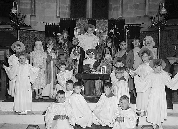 [Nativity Play given by the Preparatory Department of Oswestry School]