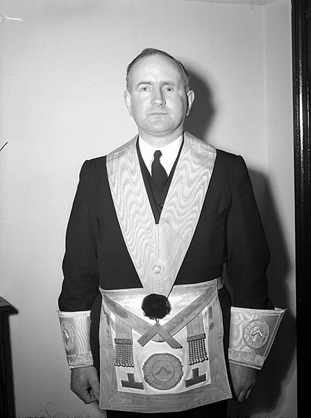 [Mr Edwards of Brithdir, Grand Master of the Bala Free Masons]