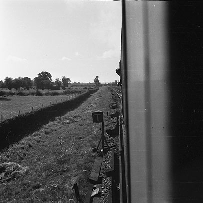 [Random photographic shots taken on an Oswestry to Bristol train journey, 1950]