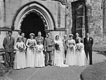 [Wedding of Gwendoline Pike and Clifford Charles Edwards at Oswestry Parish Church]