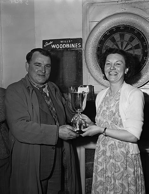 [Ford Darts and Dominoes League presentation]