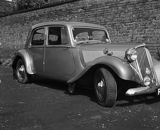 [Citroen with Michelin X tyres]