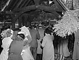 [Wedding of Sylvia Mair Davies and Kenneth Davies at Bwlch-y-cibau]