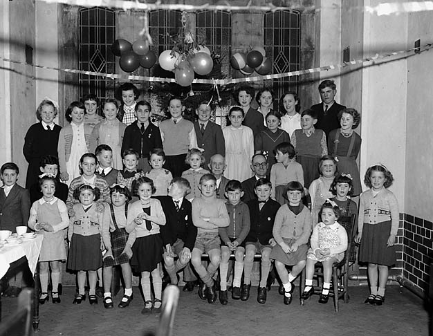 [Overton Methodist Sunday School party]