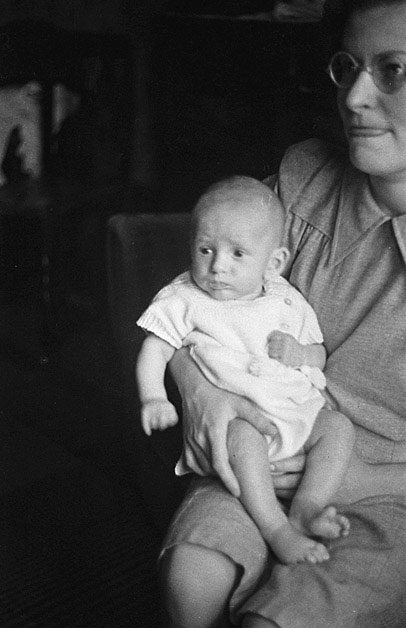 [Unidentified mother and baby]