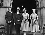 [Wedding of Sybil Pritchard and Edward Jones at Oswestry Parish Church]