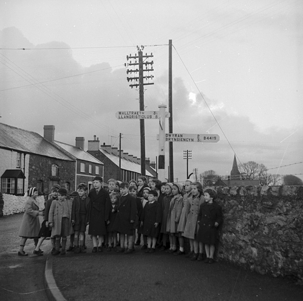 [Llangaffo - the tidiest village in Anglesey for 1959]