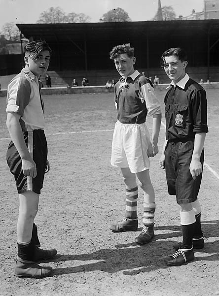 [Shropshire Schools Football Final at the Gay Meadow, Shrewsbury]