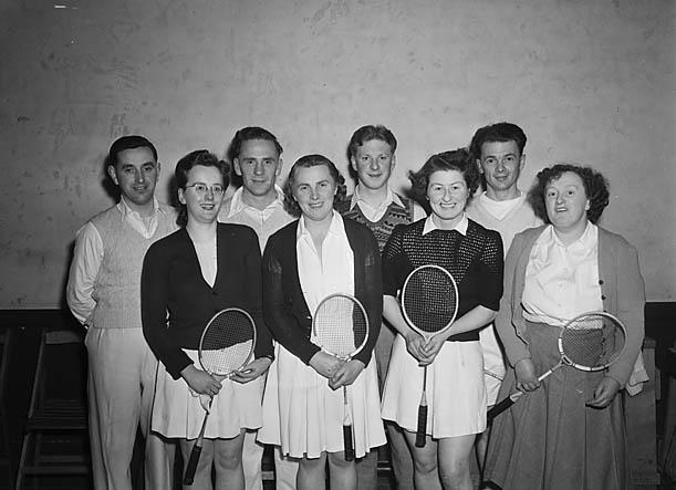 [Blaenau Ffestiniog Badminton team]