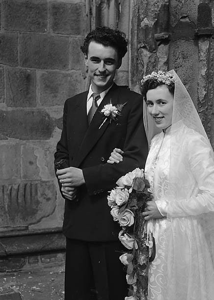 Cyril and sybil wedding