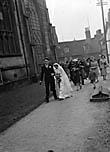 [Wedding of Allen Morley at St Alkmond's, Shrewsbury]