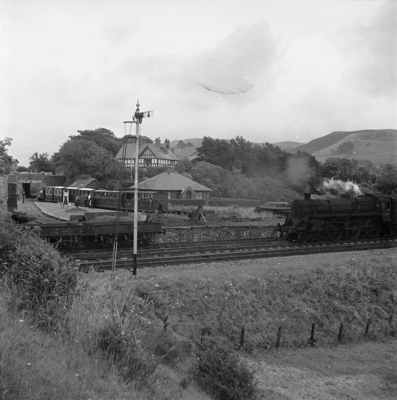 "[Tal-y-llyn Narrow Gauge Railway, the first ever ""preserved"" railway]"