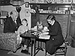 [Pictures of T I Ellis and his family, published in Y Cymro's biography of T I Ellis]