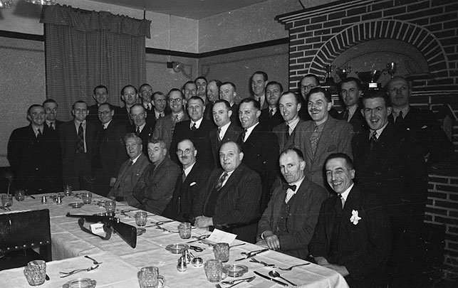[Whitchurch Rifle Club annual dinner, Shropshire]