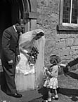 [Wedding of Joyce Ann Griffiths to William Pryce Davies at Ruyton-XI-Towns Congregational Church]
