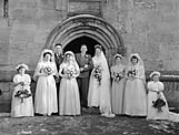[Wedding of Cynthia Ellis and Graham Walters at St Martins parish church]