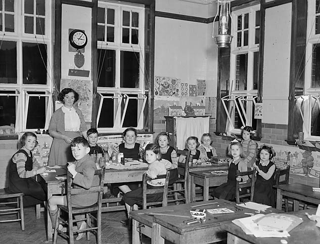 [Rhydygorlan School on the mountain between Dolgellau and Trawsfynydd]