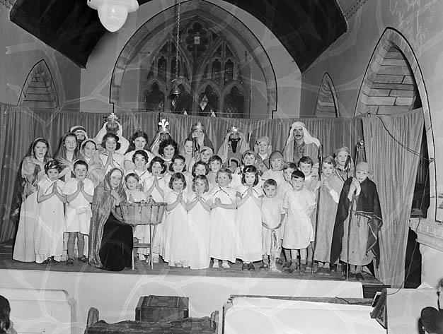 [Nativity scenes in Llanrhaeadr-ym-Mochnant]