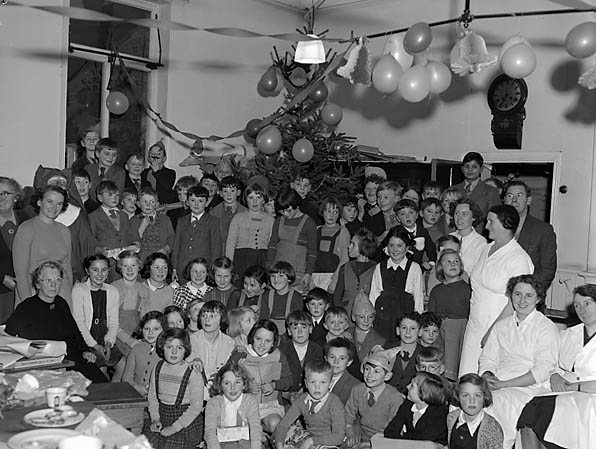 [Llanfyllin County School Christmas party]