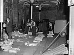 [Arrival of the newspaper train at Shrewsbury Station]