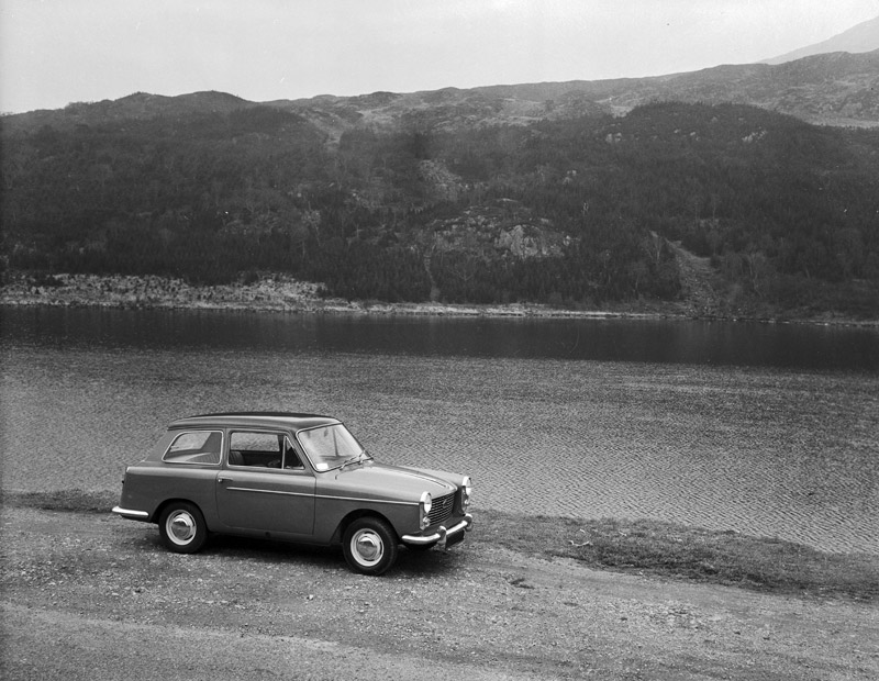 [Road testing the Austin A40]