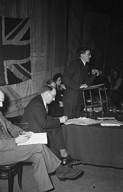 [Debate at Shotton on Steel Nationalization, December 1948]