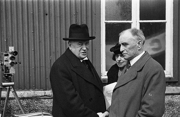 [Lloyd George at Caernarvon Pavilion]
