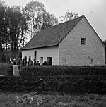 [Opening Capel Penrhiw in St. Fagans]
