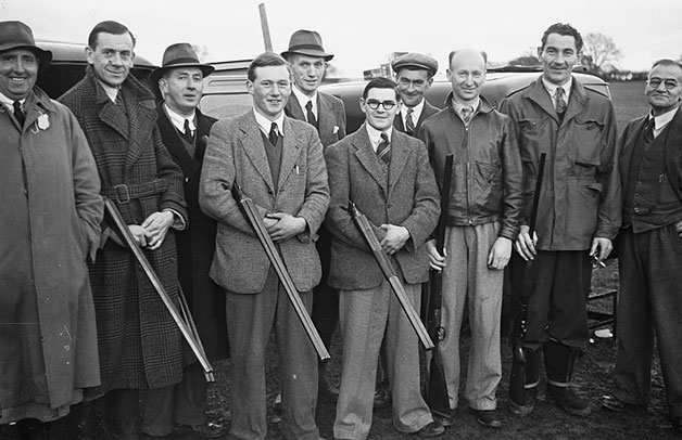 [Ellesmere Young Farmers' Club Pigeon Shoot, December 1948]