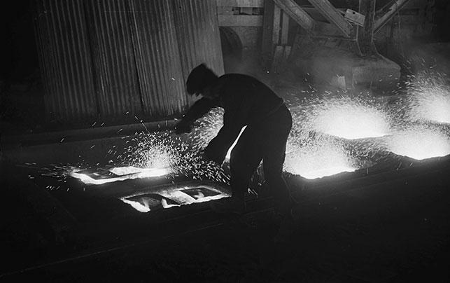 [John Summers Steel Works at Shotton, 1948]