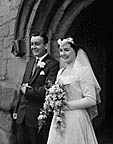 [Wedding of Barbara Hill to Graham Holt at St Martin's Parish Church]