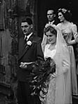 [Wedding of Miss Joyce B Bowen and Fred M Martin at St Alkmund's, Shrewsbury]