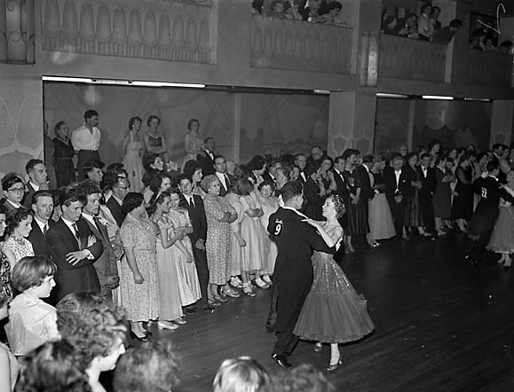 [The Butlin Valetta county competition at the Plaza, Oswestry]