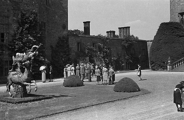 [Ashford Welsh Girls' School, Middlesex hold a Speech Day at their new home, Powis Castle, Welshpool]