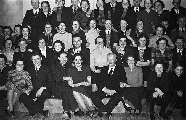 [Staff social at Kymric Mills, Newtown]