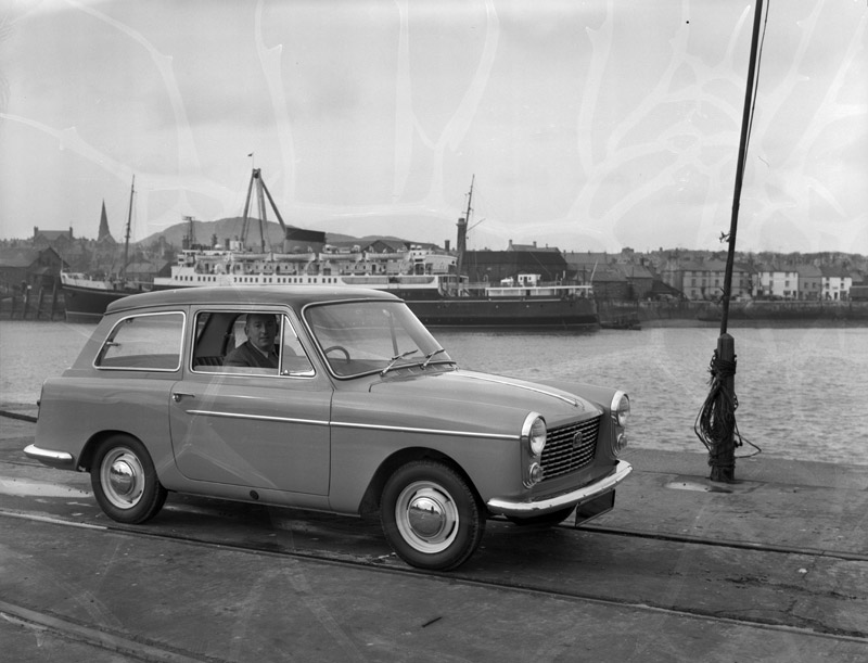 [Road testing the new Austin A40]